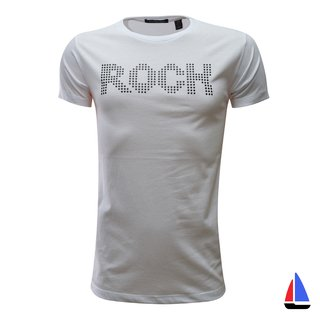 Remera Rock Blanca El Don