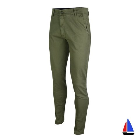 Pantalon Chino Verde Musgo El Don