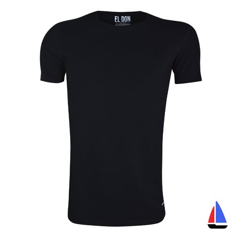 Remera Wear Basic Negra El Don