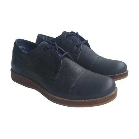 Zapatos Manhattan Azul Blood Azul South