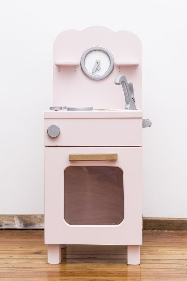 Wonderkitchen mini retro Rosa - Wonderplay