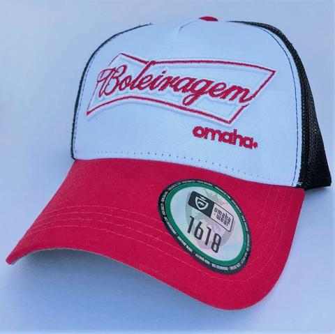 BONÉ OMAHA BOLEIRAGEM TRUCKER 45841cc6366