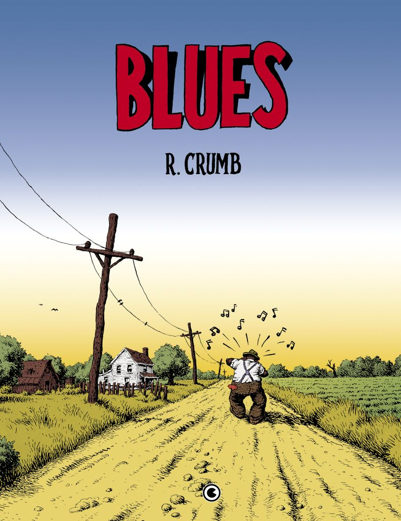 Blues, de Robert Crumb - Capa Dura