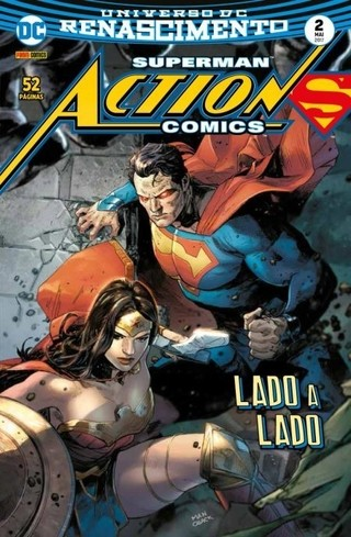 Superman Action Comics vol 2 Renascimento