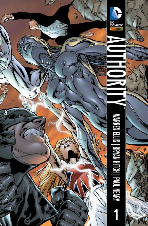 Authority Vol. 1, de Warren Ellis