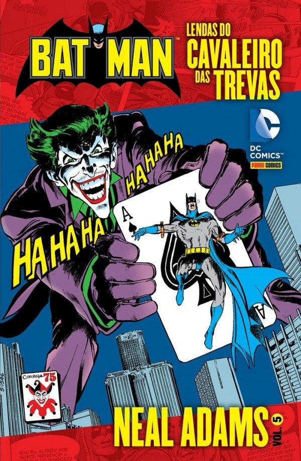 Lendas do Cavaleiro das Trevas: Neal Adams Vol. 5