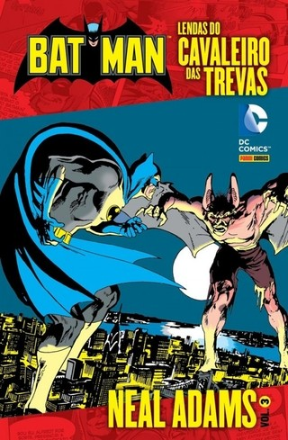 Batman: Lendas do Cavaleiro das Trevas vol 3, de Neal Adams