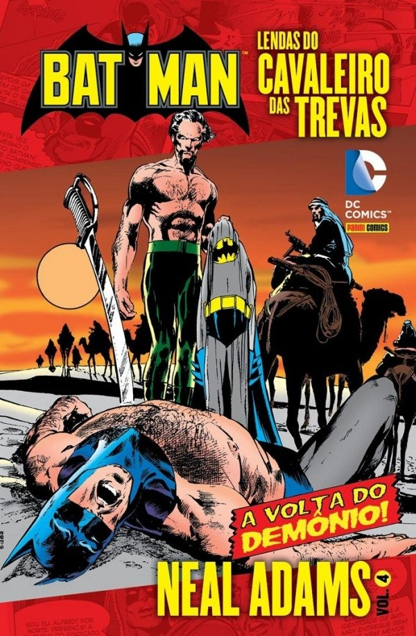 Batman: Lendas do Cavaleiro das Trevas vol 4, de Neal Adams