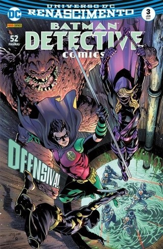Batman Detective Comics Renascimento vol 3