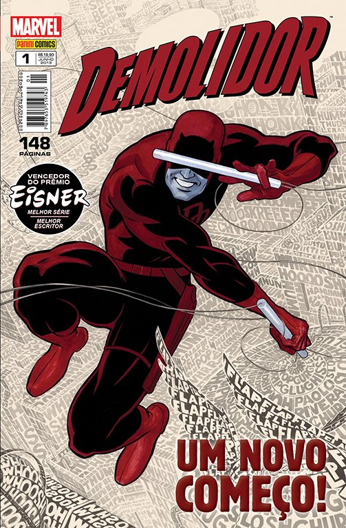 Demolidor Vol 1, de Mark Waid