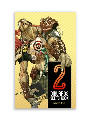 Pré-Venda: Diburros Sketchbook Vol. 2., de Marcelo Braga