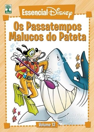 Essencial Disney Vol 12 - Os Passatempos Malucos do Pateta