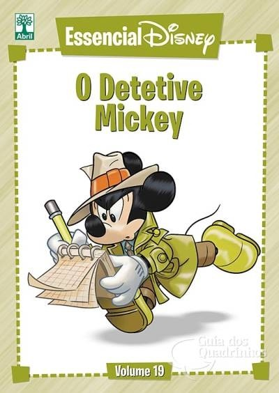 Essencial Disney Vol 19 - O Detetive Mickey