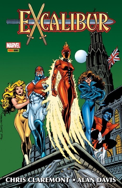 Excalibur, de  Chris Claremont & Alan Davis