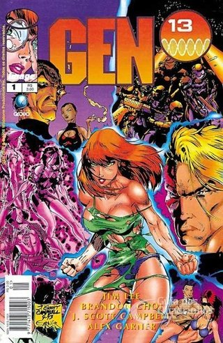 Gen 13 nº 1, de Jim Lee e J. Scott Campbell