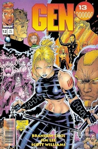 Gen 13 nº 12, de Jim Lee e J. Scott Campbell