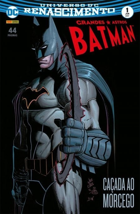 Grandes Astros Batman vol 1, de Scott Snyder e John Romita Jr.