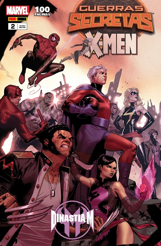 Guerras Secretas X-Men Vol 2
