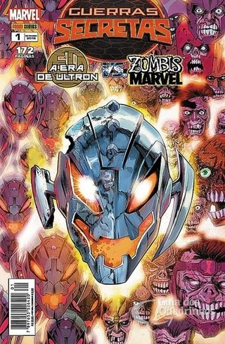 Guerras Secretas: A Era de Ultron Vs Zumbis Marvel Vol.1