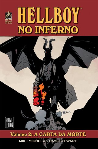 Hellboy no Inferno - Vol.2: A Carta da Morte, de Mike Mignola