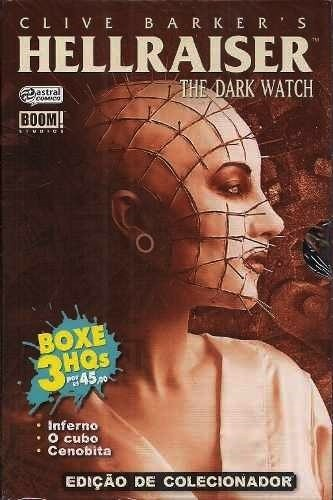 Box Hellraiser - The Dark Watch- Clive Barker - 3 edições