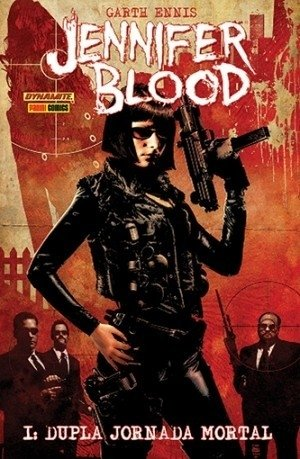 Jennifer Blood, de Garth Ennis
