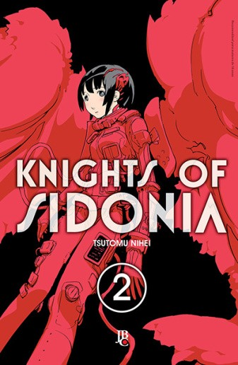 Knights of Sidonia vol. 02, de Tsutomu Nihei