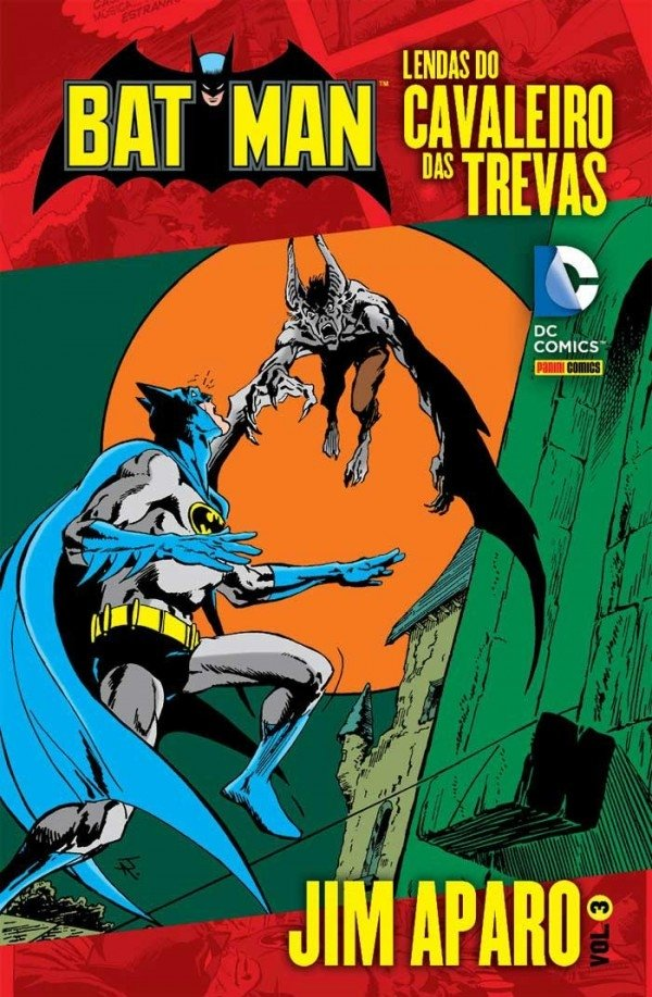 Lendas do Cavaleiro das Trevas vol 3, de Jim Aparo