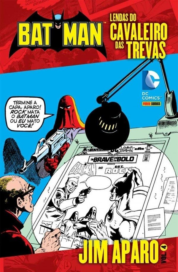 Lendas do Cavaleiro das Trevas vol 4, de Jim Aparo
