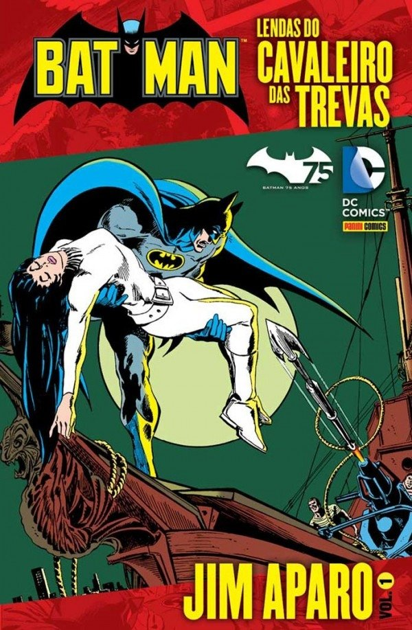 Batman: Lendas do Cavaleiro das Trevas vol 1, de Jim Aparo