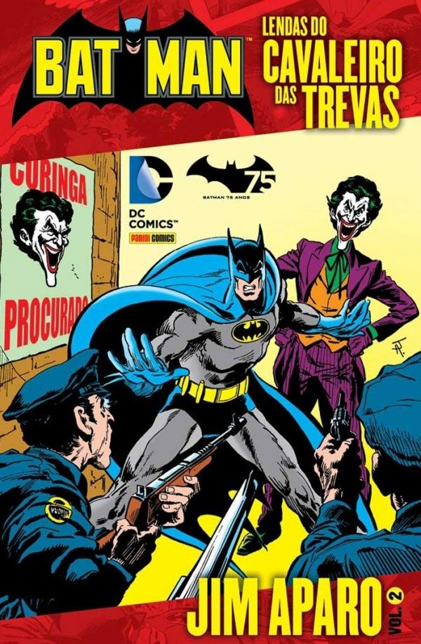 Lendas do Cavaleiro das Trevas vol 2, de Jim Aparo