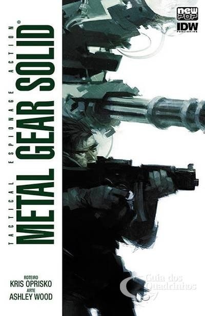 Metal Gear Solid Vol.1, de  Kris Oprisko e Ashley Wood