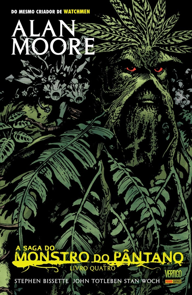 A Saga do Monstro do Pântano Vol. 4, de Alan Moore