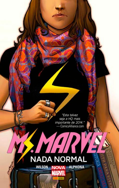 Ms. Marvel – Nada Normal, de G. Willow Wilson e Adrian Alphona