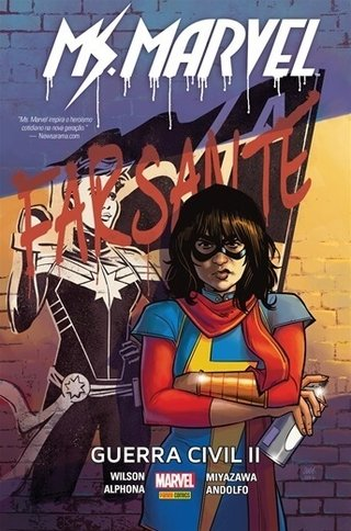 Ms. Marvel: Guerra civil II, de G. Willow Wilson - Capa Dura