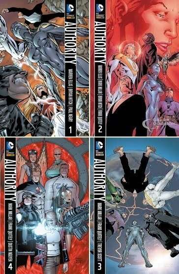 Pack Autorith, de Warren Ellis e  Mark Millar