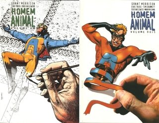 Pack Homem-Animal vol 1 e 2, de Grant Morrison