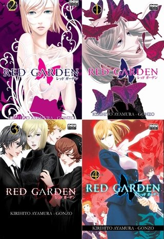 Pack Red Garden - 4 volumes - Série Completa