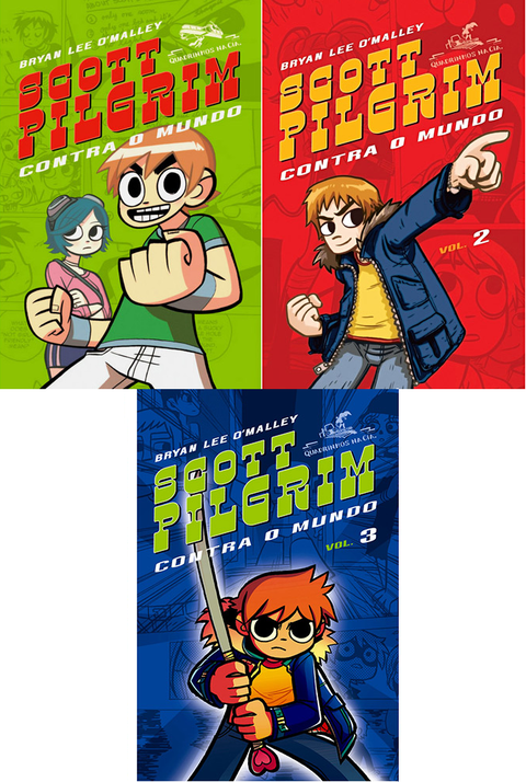 Pack Scott Pilgrim contra o mundo, de Bryan Lee O`Malley
