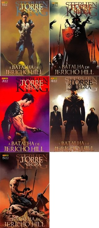 Pack Torre Negra; A batalha de Jerico Hill, de Stephen King, Peter David e Jae Lee