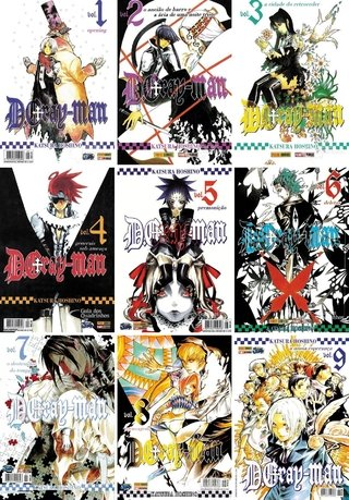Pack D. Gray-Man vol 1 a 23