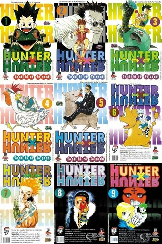 Pack  Hunter x Hunter - 32 edições - vol 1 a 32