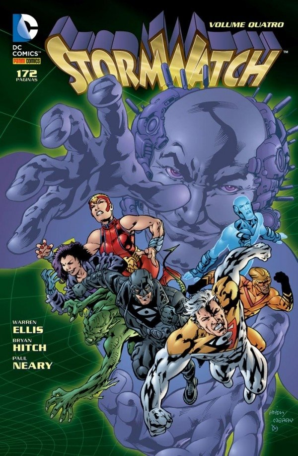 Stormwatch Vol 4, de Warren Ellis e Bryan Hitch