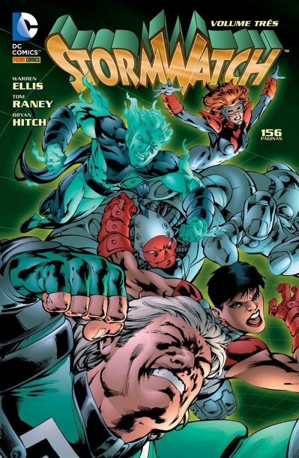 Stormwatch vol. 3, de Warren Ellis