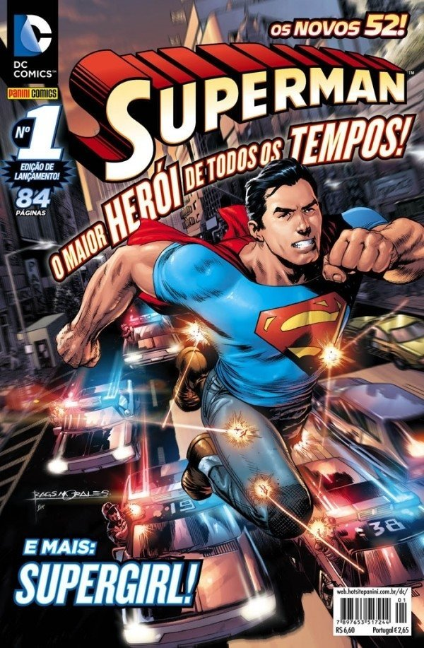 Pack - Superman - Novos 52 Vol 1 a 30