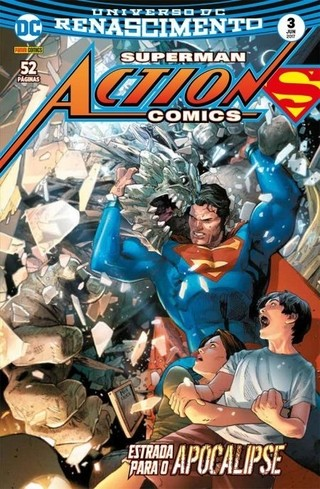 Superman Action Comics Renascimento vol 3