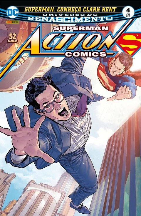 Superman Action Comics Renascimento vol 4