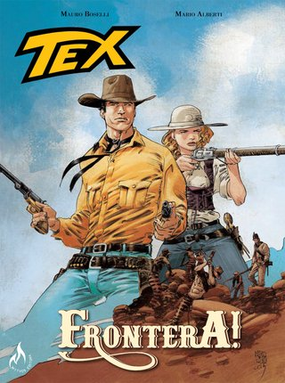 Tex Graphic Novel - Frontera!