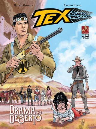 Tex Graphic Novel vol 03 - Drama no Deserto