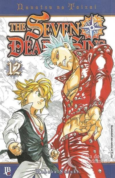 The Seven Dealy Sins Vol 12, de Nakaka Suzuki
